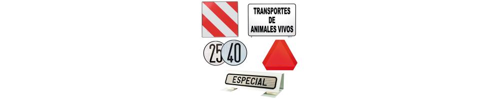 Placas de señalizacion
