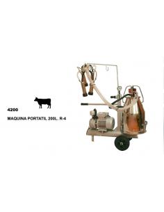 Ordeñadora portatil 25L Vacas