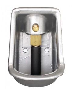 Bebedero Aluminio Gris B-8