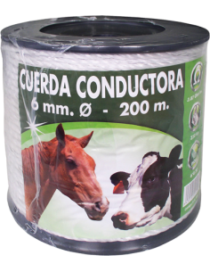 Cordon Nylon 6mm 200 metros