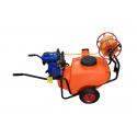 Fumigadora de carretilla 100l. 2 ruedas