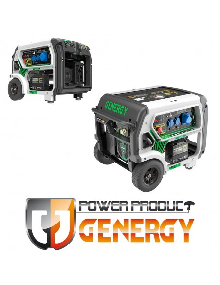 Generadores GENERGY gama GREEN
